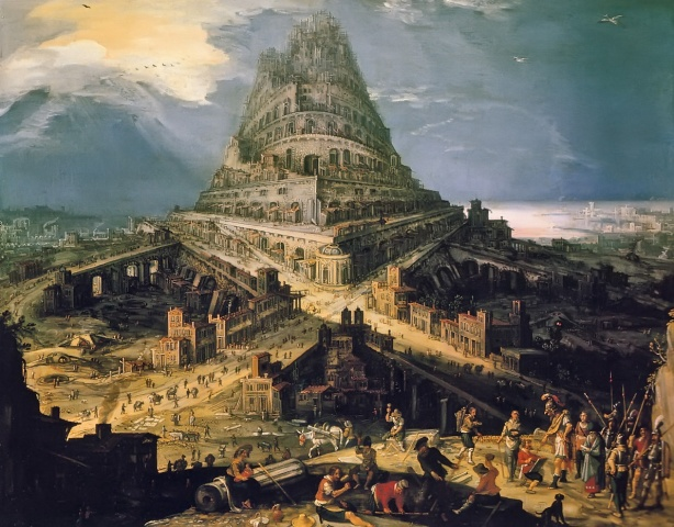 Tower of Babel  Pinacoteca Nazionale in Bologna c. 1500